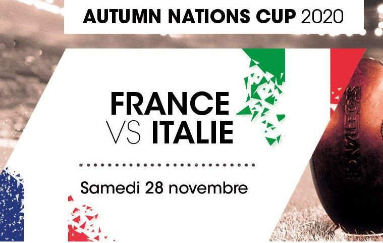 France / Italie (Coupe d'Automne des Nations) en direct samedi sur France 2 !