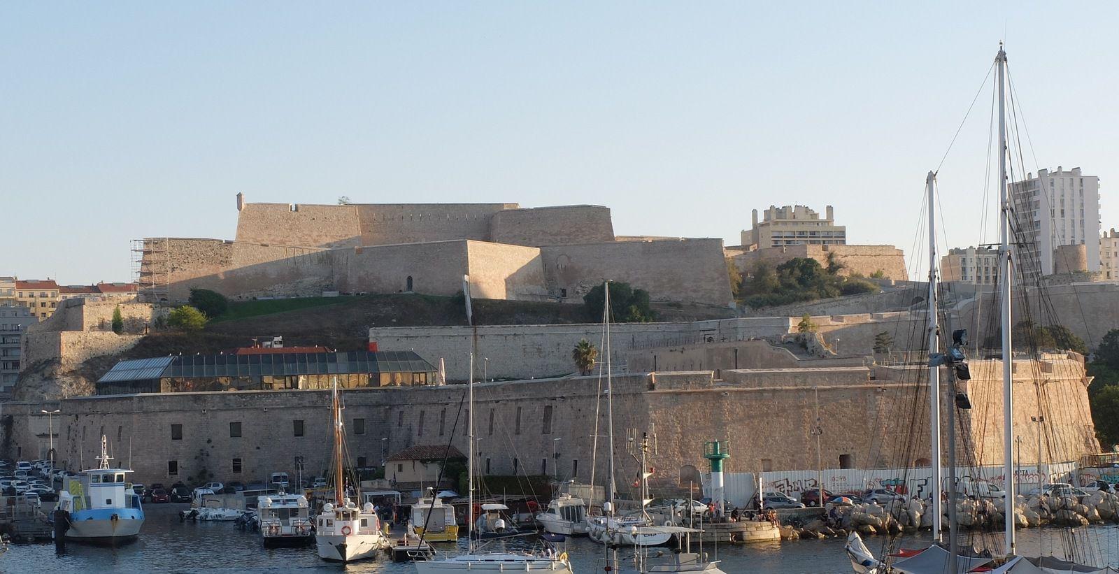 Patrimoine : la face cachée du Fort St Nicolas à Marseille.