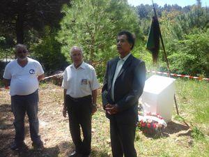 Commémoration Nationale de l'Abandon des Harkis, au hameau de forestage de Valbonne (06)