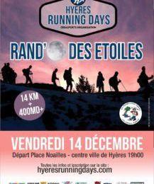 Participation du club aux manifestations du HYERES RUNNING DAYS (HRD)