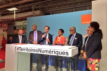 Guyane (Rémire-Montjoly) : Signature d'une convention avec Orange !