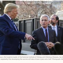 Coronavirus et plus : le Président Donald Trump se prend une rouste de la revue Science
