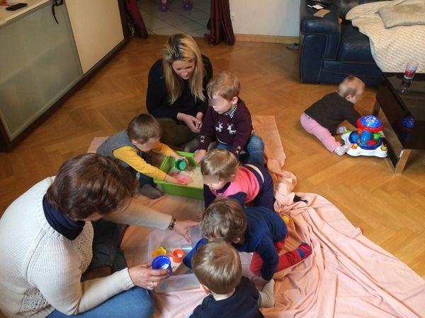 Le transvasement : un jeu d'enfant...