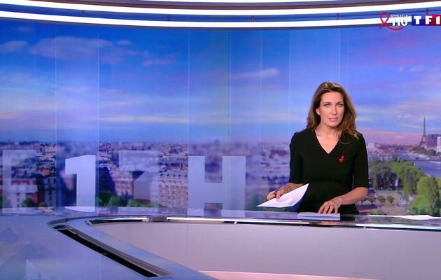 📸26 ANNE-CLAIRE COUDRAY @ACCoudray @TF1 @TF1LeJT pour LE 13H WEEK-END #vuesalatele