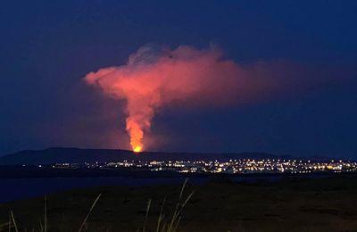Activité du Stromboli, de l'Etna, du Great Sitkin et de Fagradalsfjall.
