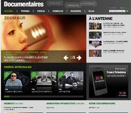 France5.fr lance un portail de documentaires