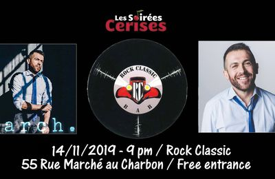 ▶ March @ Rock Classic - 14/11/2019 - 21h00 - Entrée gratuite !