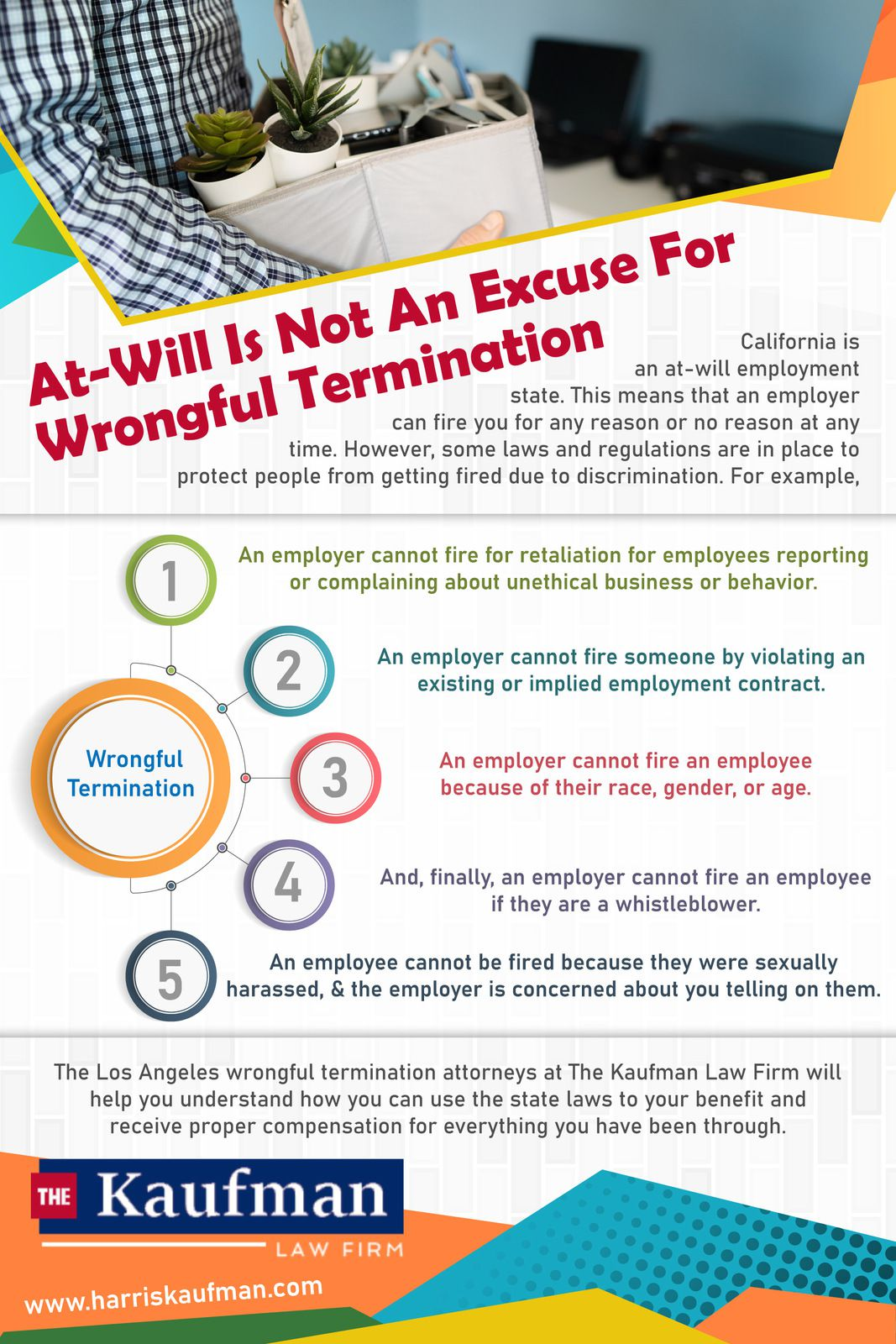 experienced wrongful termination attorney in Los Angeles
