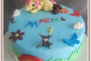 Gâteau d'anniversaire : Little Pony