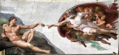 Teorías sobre el Origen del Hombre : el creacionismo.