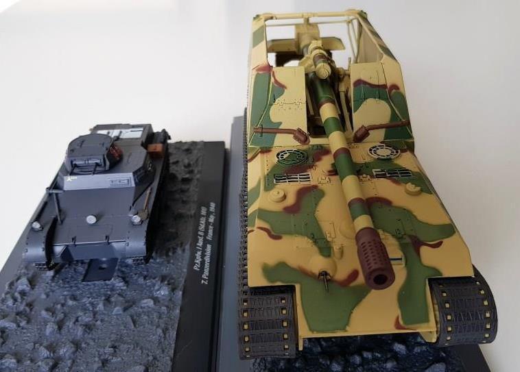 Geschützwagen Tiger für 17cm K72 (sf) contre Panzer 1 Ausf.B : le choc des années ! (par Frédéric C.)