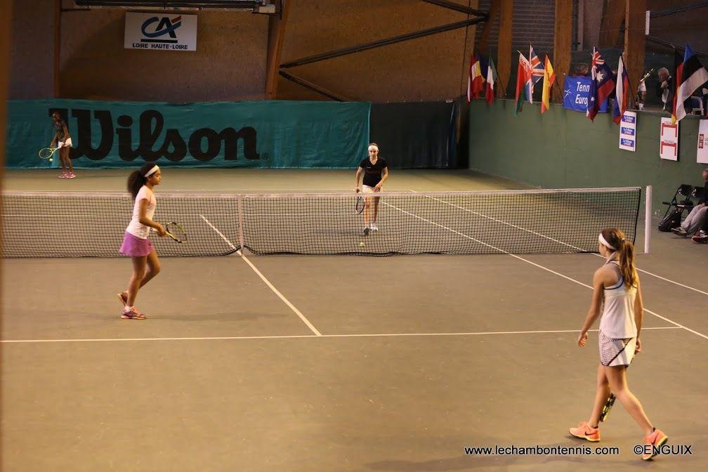Nouveau Titre en double en Tennis Europe...!!!