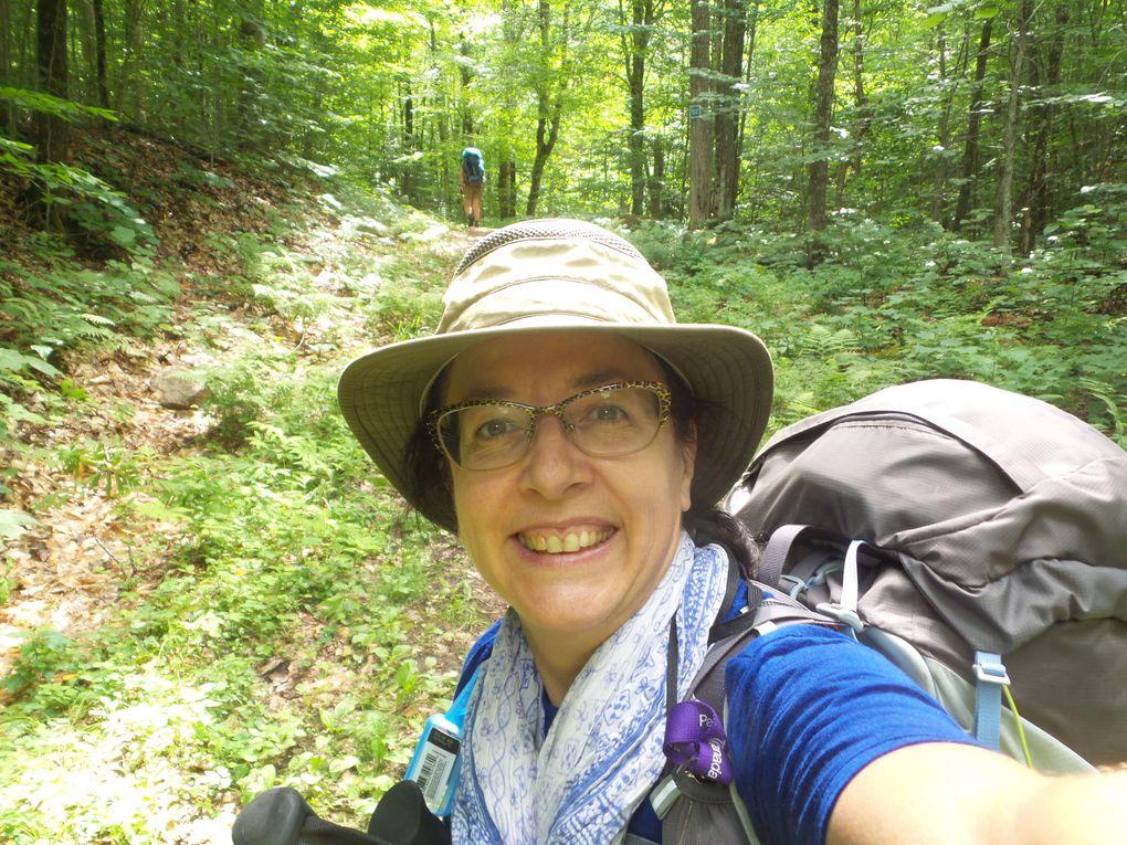 22 km de rando-camping sur 2 jours avec une tonne de moustiques