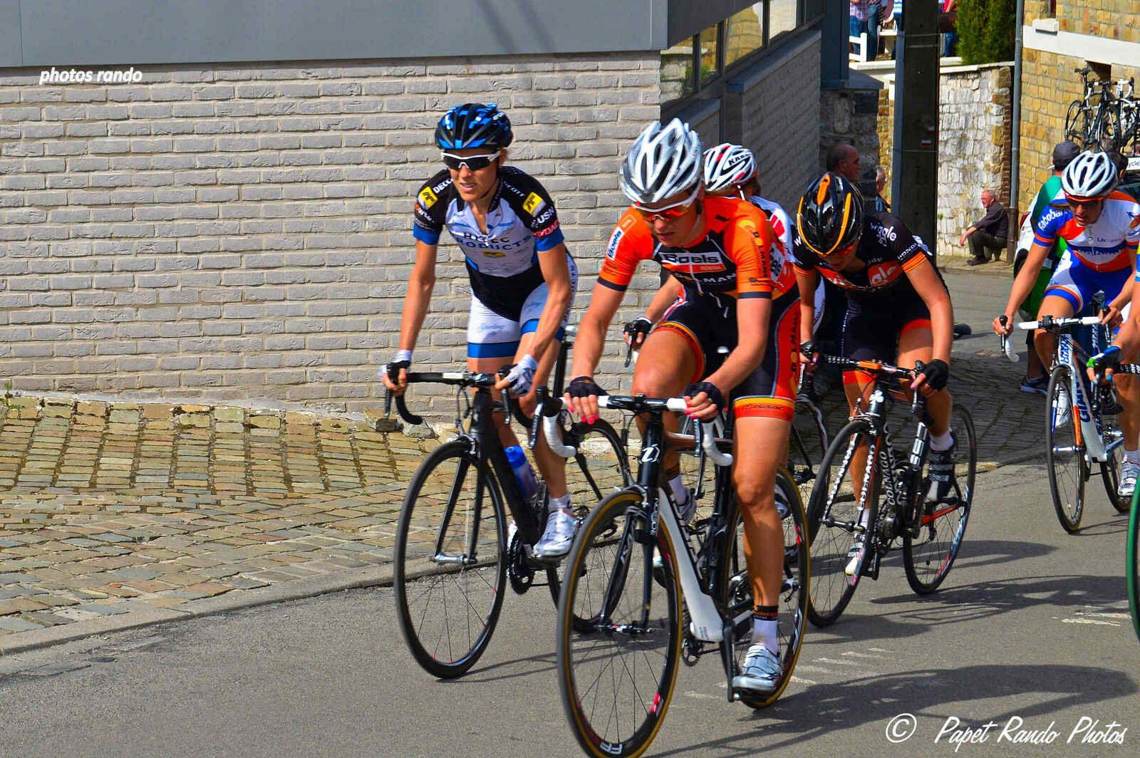 La Fleche  Wallonne 2013, dames dans le Mur de Huy