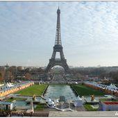 Quand la belle se pavane devant les jardins du Trocadéro - Images du Beau du Monde