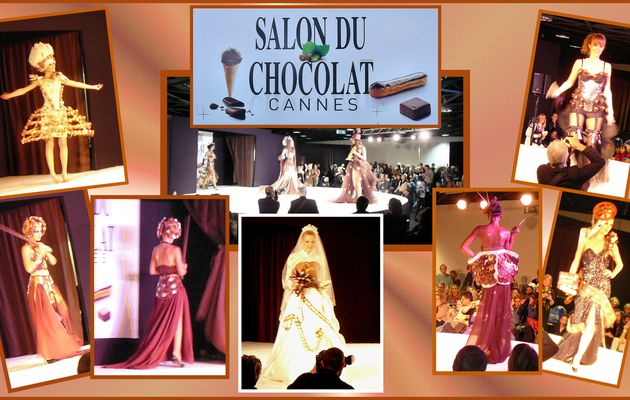1er Salon du Chocolat à Cannes ( 06). suite et fin