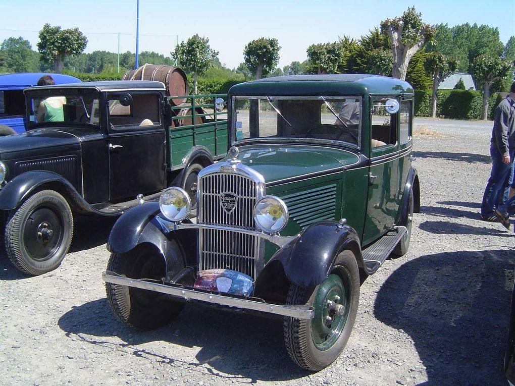 Album - Rallye Peugeot 201 et 301 2 Juin 2011