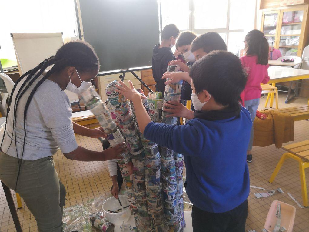Ils étaient très fiers de leur beau projet.