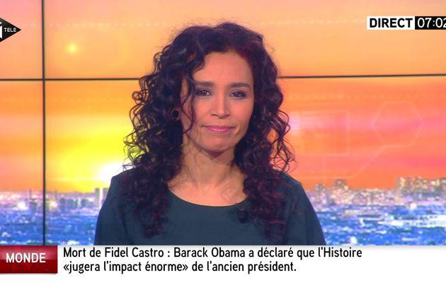 📸 AIDA TOUIHRI @AidaTouihri ce matin @itele #LaMatinaleWE #vuesalatele