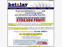 The Betalay Horse Racing System.