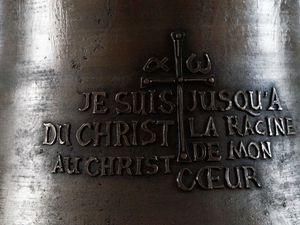 La cloche dédiée à Marie Noël