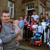 Britain's biggest family to get even larger