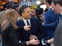 Pas de Hulk en colère, juste Mark Ruffalo qui s'est précipité dans les bras de ses fans ! No angry Hulk, just Mark Ruffalo who greeted his fans!