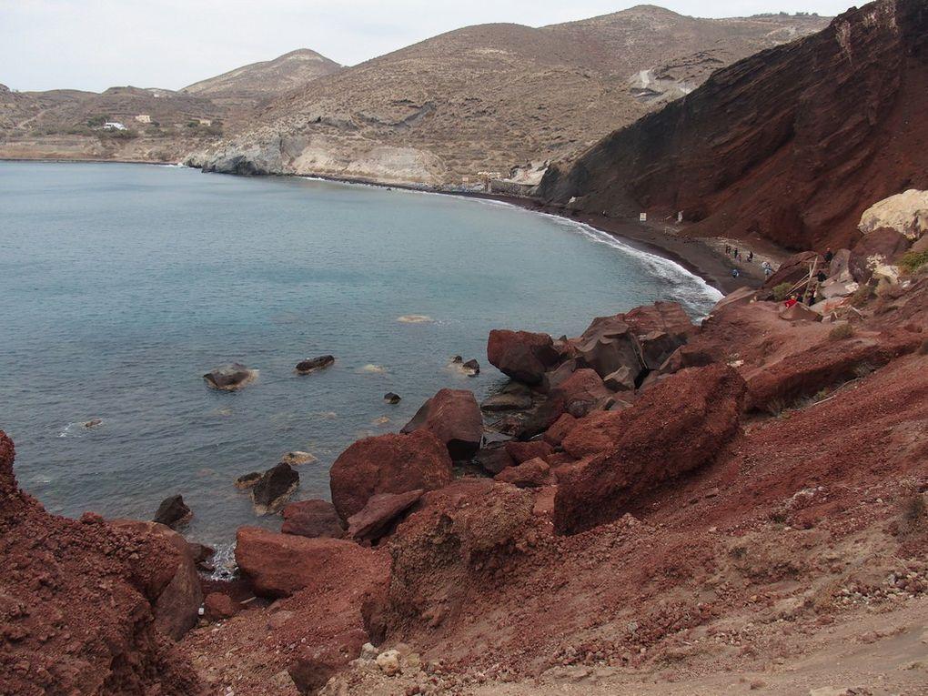 la plage rouge ....