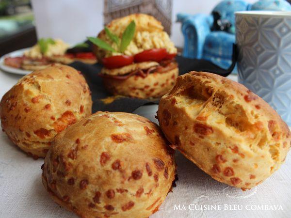 Scones au Cheddar et au Curry, Garniture Full English Breakfast Style! #00Chut#9