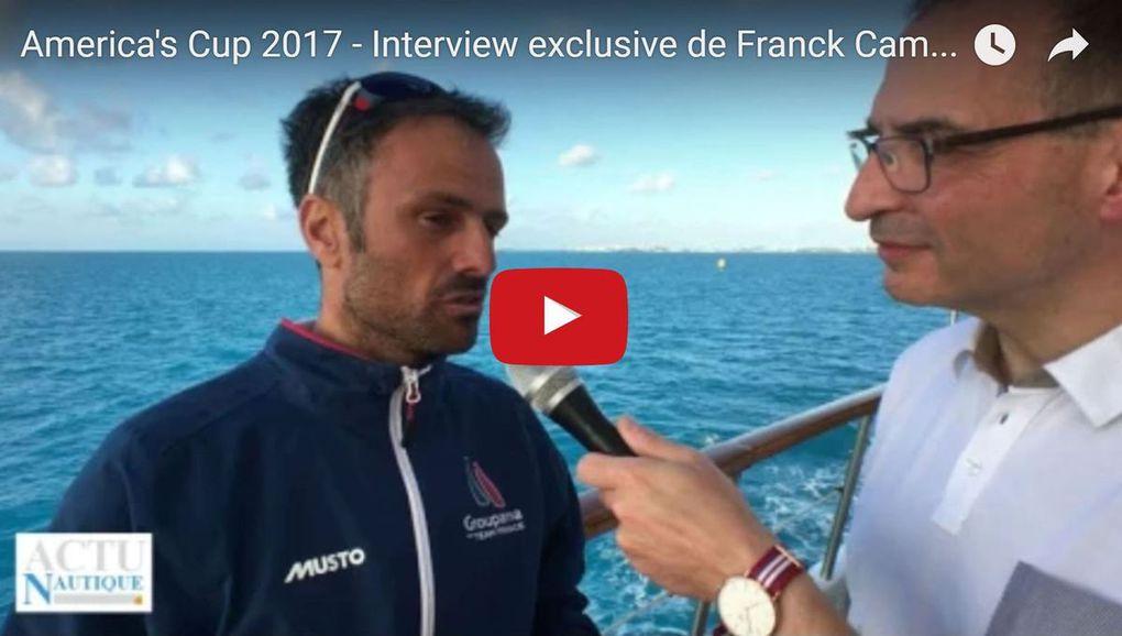 America's Cup - A moins de 40 jours du début de l'épreuve, Franck Cammas nous dit tout !