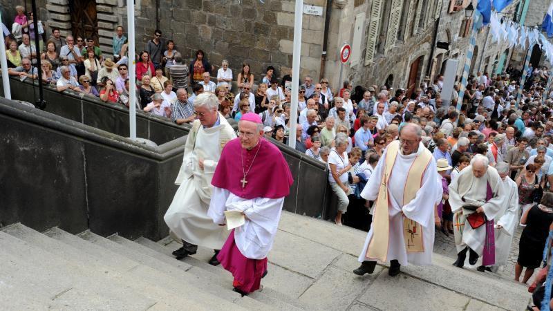 Claude Feidt, archevêque émérite d'Arles et d'Aix-en-Provence, est mort à l'hopital Emile-Roux, au Puy-en-Velay, ce mardi 13 octobre 2020, à  84 ans. / Photo @ DR Lucien Soyere