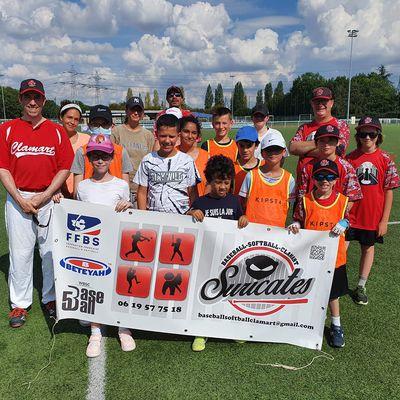 Reprise des entraînements de la section Baseball de rue (apprentissage Baseball / Softball)