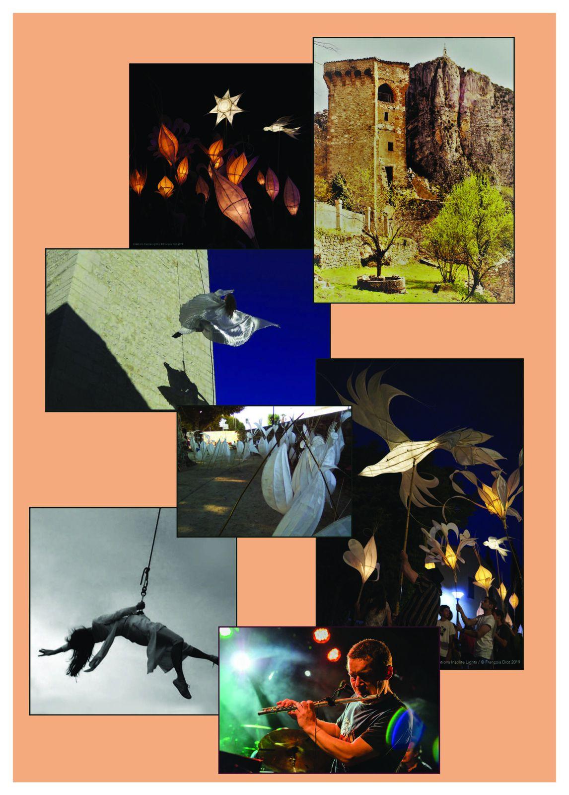 Castellane : affiche animation le 25 septembre animation jardins suspendus