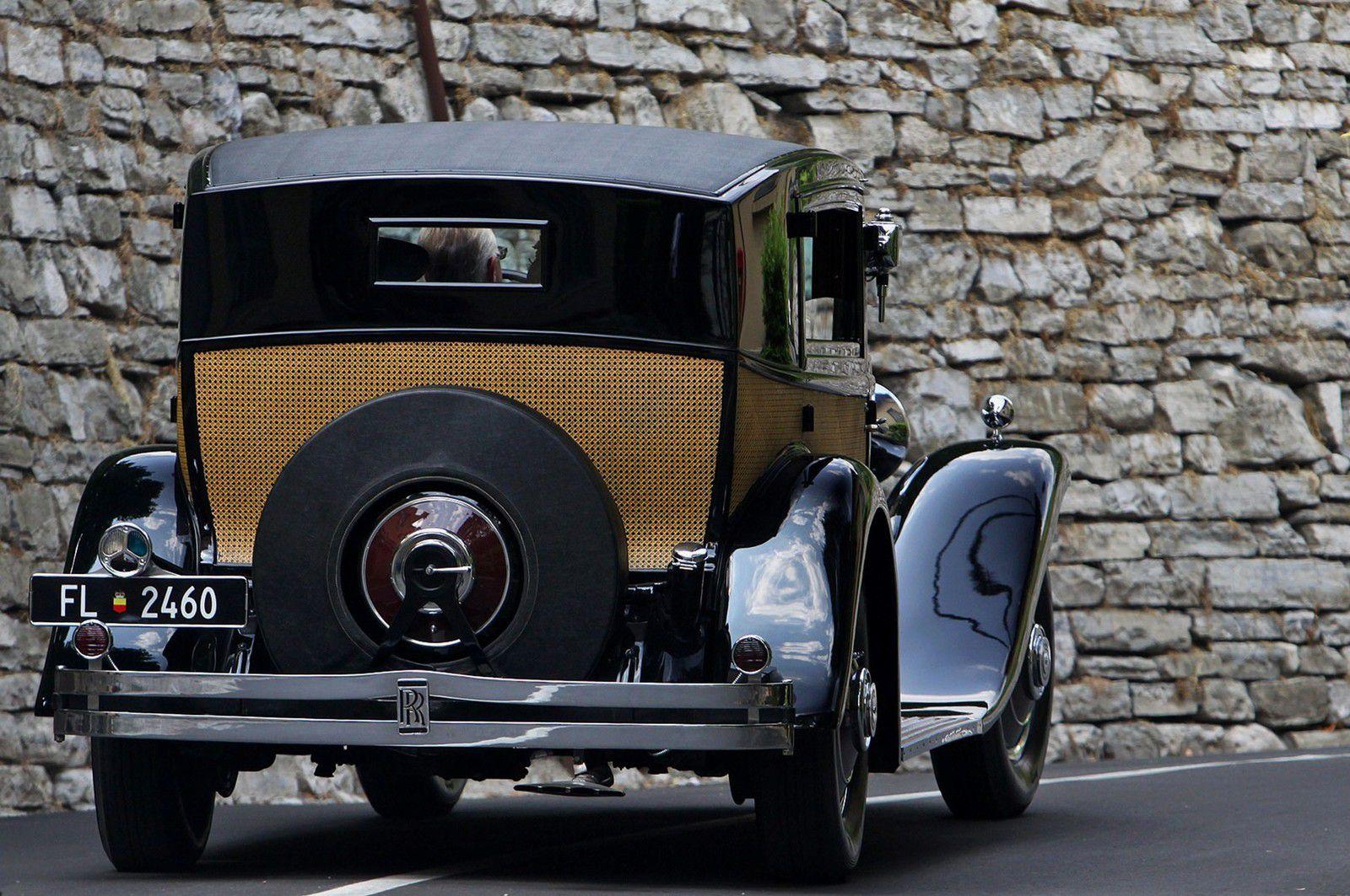 VOITURES DE LEGENDE (1225) : ROLLS-ROYCE  PHANTOM II BREWSTER SPECIAL TOWN CAR - 1933