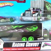 CAMION RACING CONVOY AVEC DIESELBOY HOT WHEELS 1/64 - car-collector.net