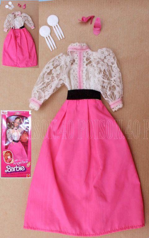 """ANGEL FACE"" BARBIE DOLL CLOTHES 1982 MATTEL #5640"