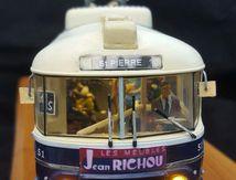 Trolleybus, Brest, 1/43, transformation d'une base, HACHETTE, modèle réduit, échelle 1/35 Modélisme Brest, Finistère, Bretagne, France