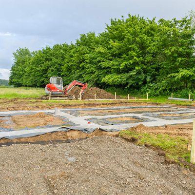Construction de notre villa à Beloeil