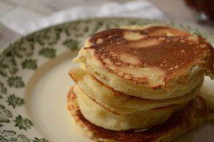 Pancakes au lait fermenté