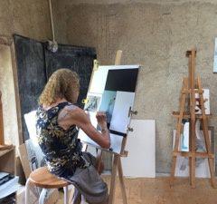Initiation à l'aquarelle et à l'encre de chine ou au drapé, afin d'être plus à l'aise pour aquarelle les croquis de paysage ou de personnage...