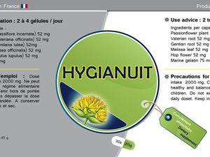 Etiquettes Gelules plantes