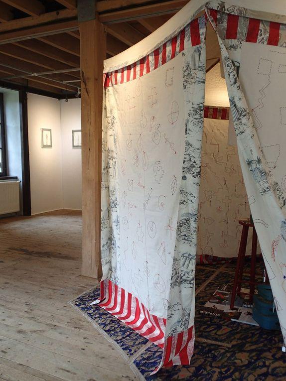 """Exposition """" LE CLOS DES MURMURES """" 1er au 23 Septembre 2018 - Moulin de Blanchardeau -Lanvollon (22)"""