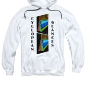 Cyclopean Glances Hermite Adult Pull-Over Hoodie for Sale by Michael Bellon
