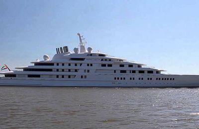 Le TOP 5 des plus grands yachts du monde, au 1er janvier 2016