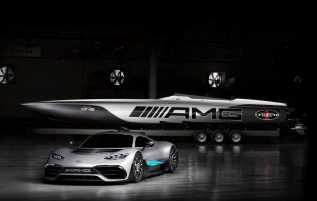 Miami Boat Show - 3100cv pour 515 Project One, le superboat de Mercedes-AMG et Cigarette Racing