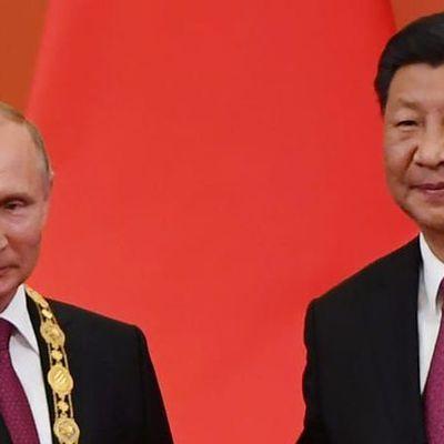 CHINE - L'axe Pékin-Moscou, grande peur de l'Occident