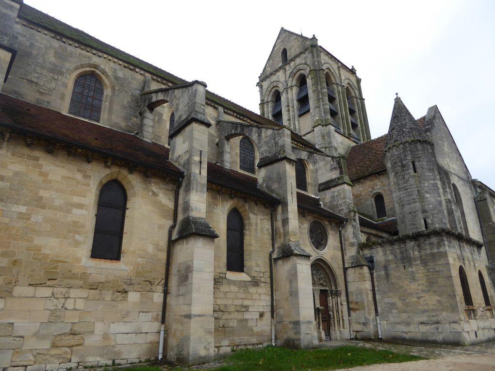 Randonnée de Méry-sur-Oise à Pontoise - 14 km.