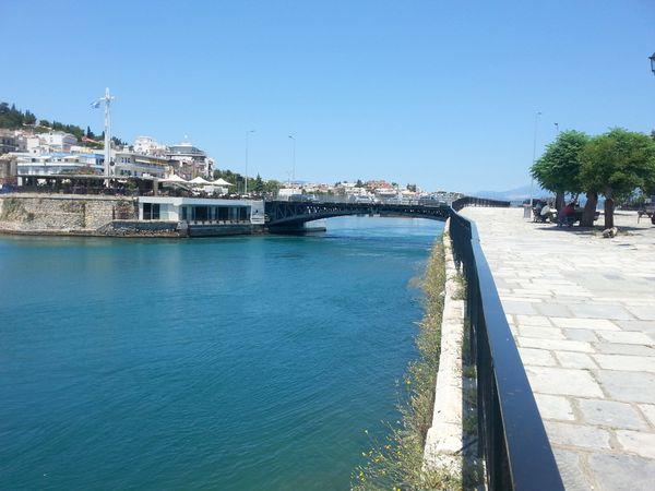L'ancien pont de Chalkis