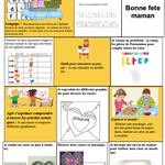 Semaine 31/32 autonomie MS (fête des mères) et vocabulaire Facteur doudou chez Angéline