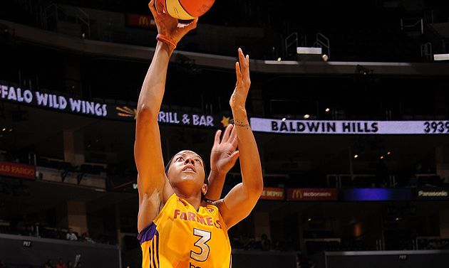Playoffs WNBA: Los Angeles Sweepe San Antonio